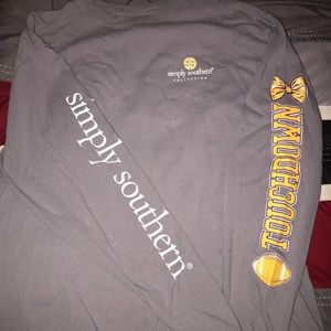 Simply Southern ECU Tailgate Shirt